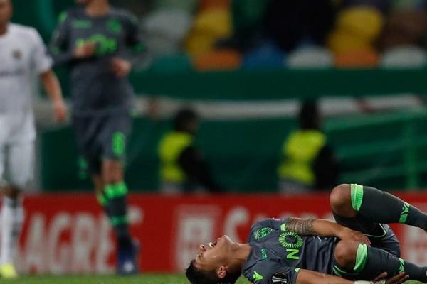 Montero lesionou-se no ligamento do tornozelo direito e será reavaliado