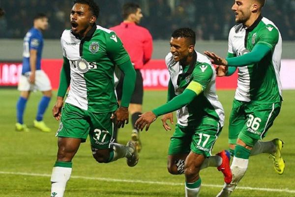 Crónica: Tiros' de Wendell e Bruno Fernandes apuram Sporting para 'meias' da Taça