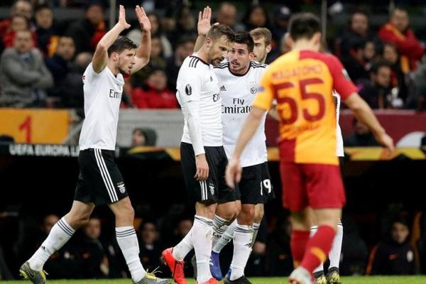 Liga Europa: Benfica vence em casa do Galatasaray na primeira mão dos 16 avos