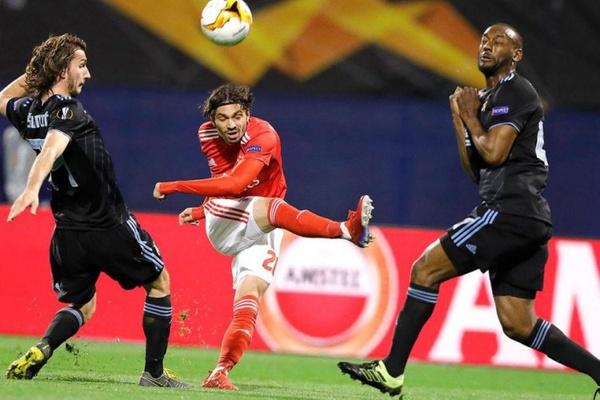 LE: Benfica procura superar derrota de Zagreb e marcar lugar nos 'quartos'