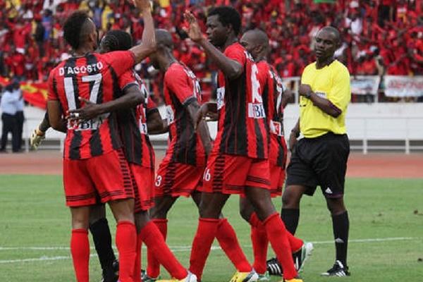 1º de Agosto falha final da 'Champions' africana ao perder com Esperance Tunes
