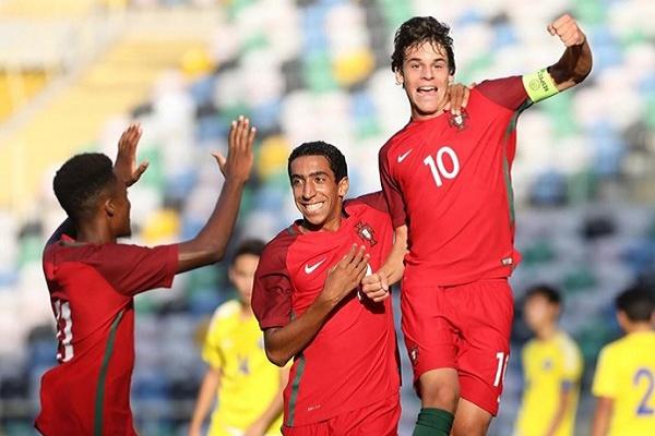 Portugal estreia-se no apuramento para o Euro2019 de sub-17 com goleada por 10-0