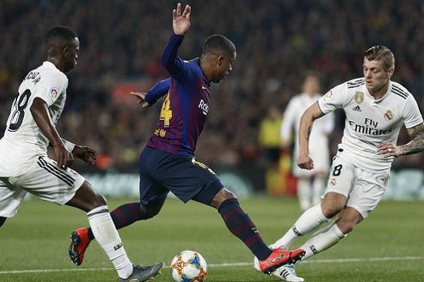Real Madrid empata em Barcelona e adia meia-final da Taça do Rei para a capital