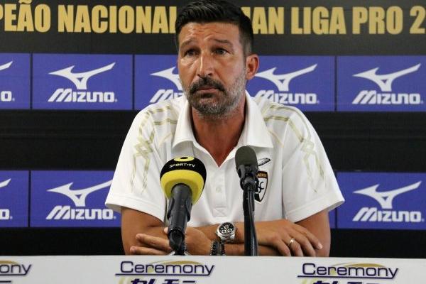 António Folha antevê jogo com «muitas dificuldades» frente ao Belenenses