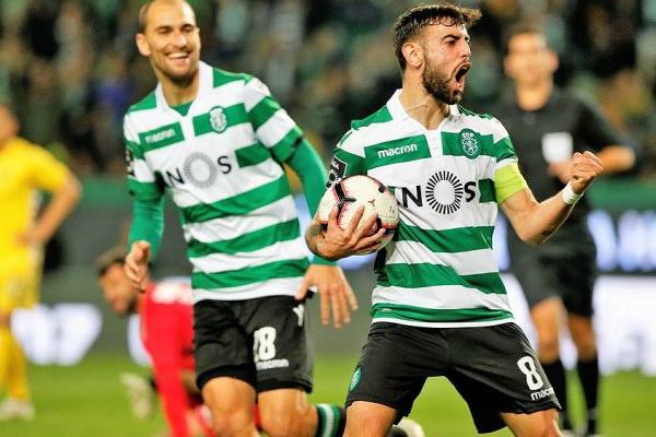 I Liga: Bruno Fernandes arrecada prémio de melhor médio de Março