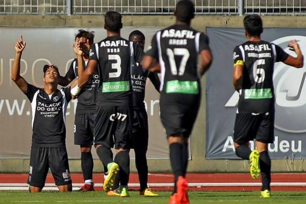 II Liga: Ac. Viseu goleia V. Guimarães B e afasta-se da despromoção