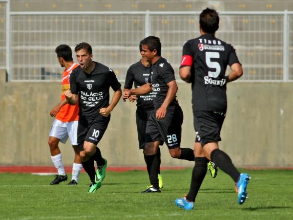 Segunda Liga: Académico de Viseu e Gil Vicente empatam a um golo