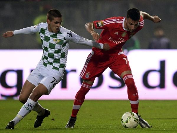 Benfica goleia Moreirense e apura-se para as meias-finais da Taça da Liga