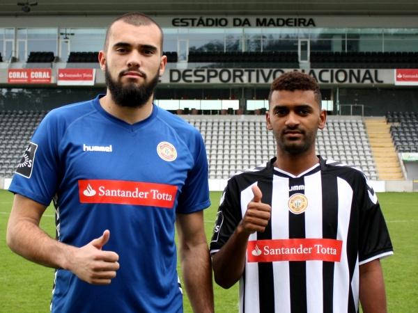 Mercado: Nacional contrata guarda-redes Filipe Ferreira e médio Paulinho