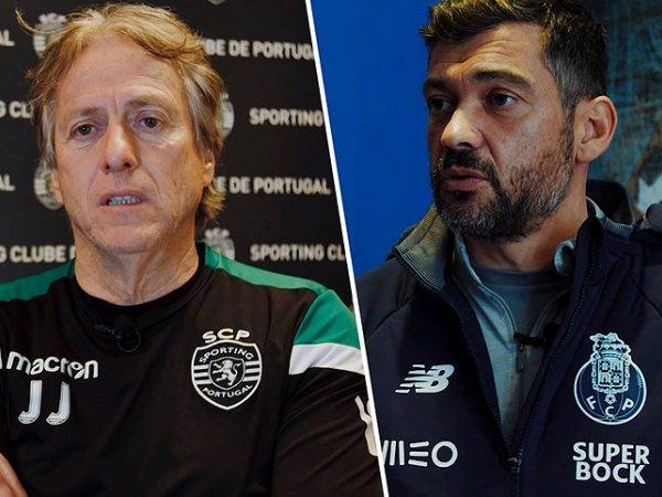 Taça da Liga: Conceição superou Jesus no único duelo a eliminar