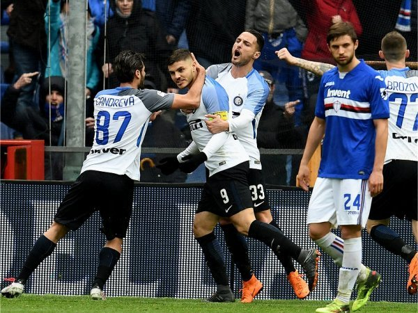 Itália: Inter goleia Sampdoria, em manhã de sonho de Mauro Icardi