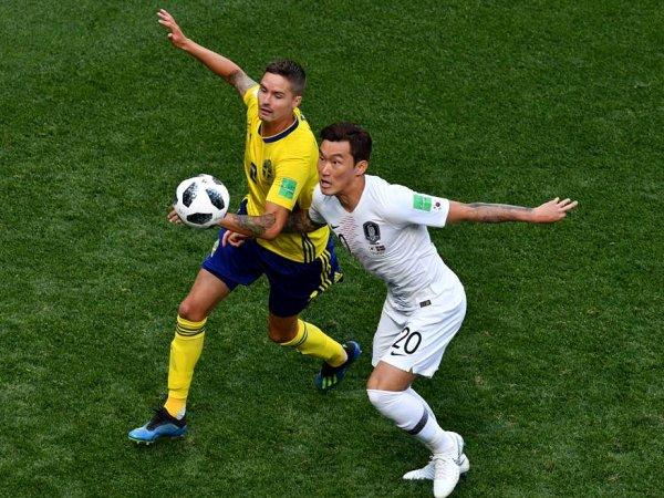 Mundial: Suécia 1 - 0 Rep. Coreia (2018)