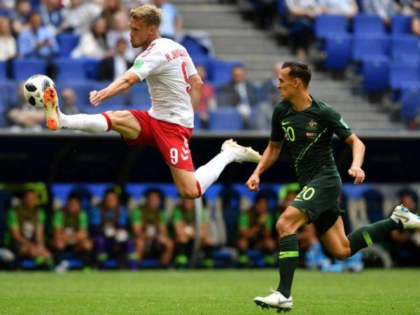 Mundial: Dinamarca 1 - 1 Austrália (2018)