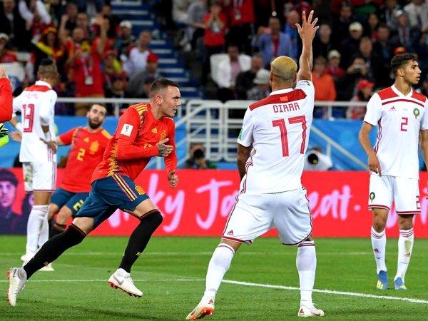 Mundial: Espanha 2 - 2 Marrocos (2018)