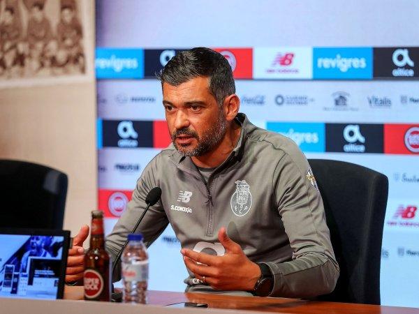 Sérgio Conceição reforça que «margem de erro é curta»