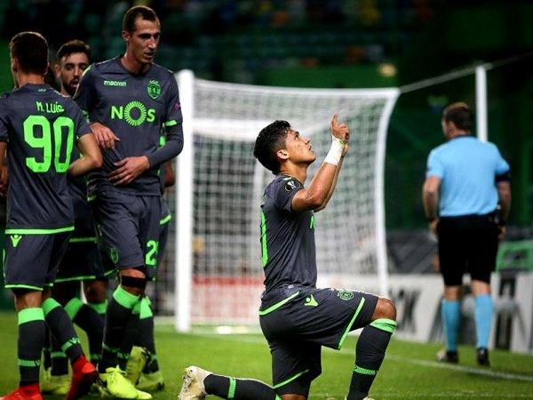 Crónica: Sporting sela fase de grupos da Liga Europa com triunfo frente ao Vorskla