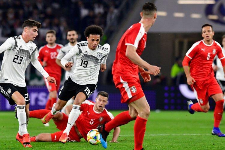 Alemanha empata na receção à Sérvia em jogo de preparação do Europeu 2020