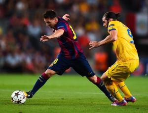 Liga Campeões: Barcelona vence Apoel por 1-0; PSG empata em Amesterdão