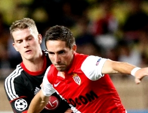 Mónaco vence (1-0) em Leverkusen e afasta Benfica das competições europeias