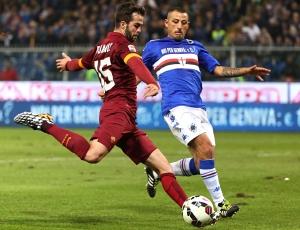 Itália: Roma empata com Sampdoria e líder Juventus pode aumentar vantagem