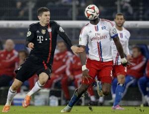 Taça da Alemanha: Bayern vence Hamburgo e está na terceira eliminatória
