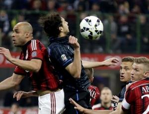Itália: Dérbi de Milão, entre Inter e AC Milan, termina com empate 0-0