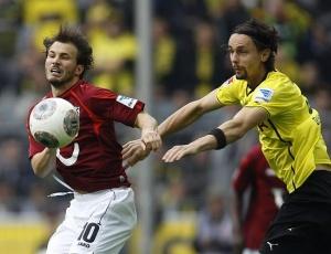 Alemanha: Dortmund não acerta e perde em casa com Hannover
