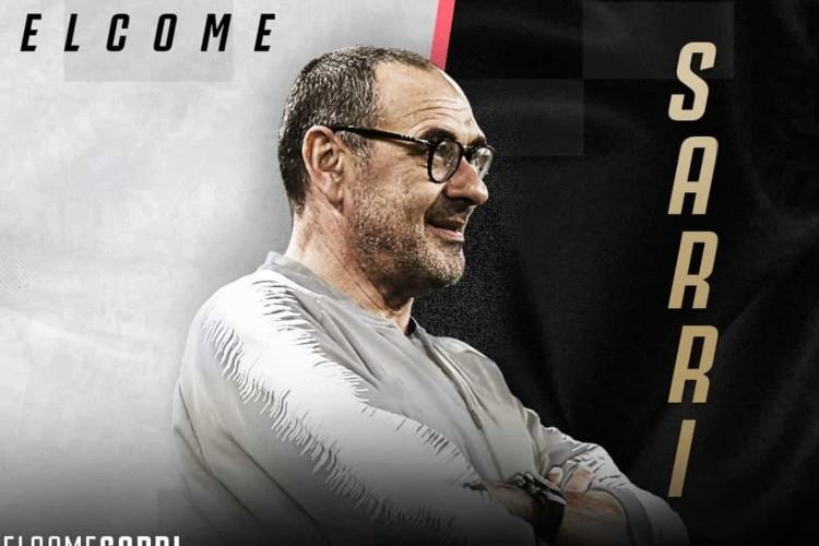 Juventus anuncia Maurizio Sarri como o novo treinador