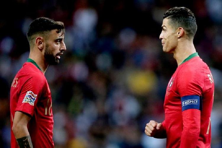 «Ninguém percebe porque é que Bruno Fernandes não sai do Sporting», Ronaldo