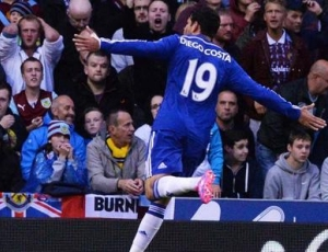 Premier League: Burnley 1 - 3 Chelsea (2014-2015)