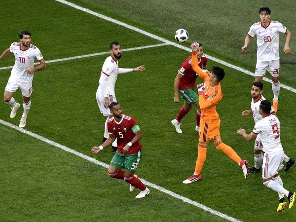 Mundial: Marrocos 0 - 1 Irão (2018)