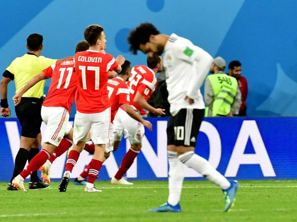 Mundial: Rússia 3 - 1 Egipto (2018)