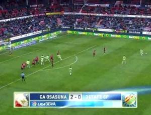 Liga BBVA: Osasuna 2 - 0 Getafe (2013-2014)