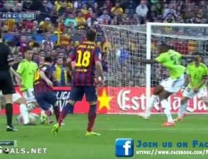 Liga BBVA: Barcelona 7 - 0 Osasuna (2013-2014)