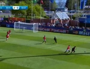 UEFA Youth League: Benfica 0 - 3 Barcelona (2013-2014)