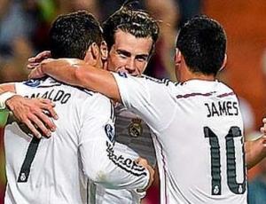 Liga Campeões: Real Madrid 5 - 1 Basel (2014-2015)