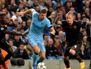 Liga Campeões: Man City 1 - 1 Roma (2014-2015)
