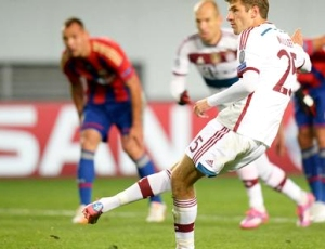 Liga Campeões: CSKA 0 - 1 Bayern München (2014-2015)