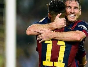 Liga BBVA: Barcelona 3 - 0 Eibar (2014-2015)