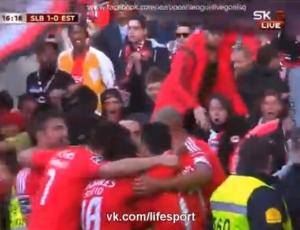 Liga NOS: Benfica 6 - 0 Estoril (2014-2015)