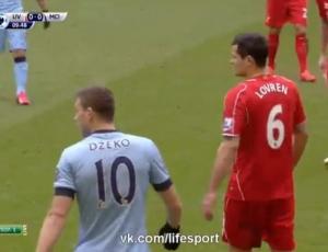 Premier League: Liverpool 2 - 1 Man City (2014-2015)
