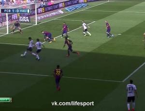 Liga BBVA: Barcelona 2 - 0 Valência (2014-2015)