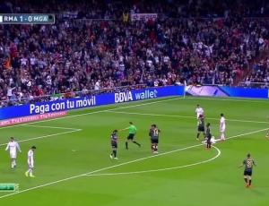 Liga BBVA: Real Madrid 3 - 1 Málaga (2014-2015)