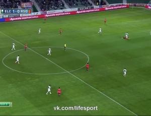 Liga BBVA: Elche 1 - 0 Real Sociedad (2014-2015)
