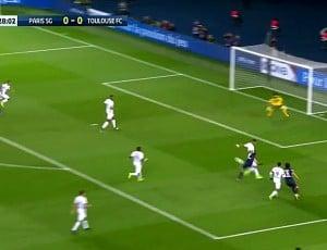 Ligue 1: PSG 0 - 0 Toulouse (2016-2017)