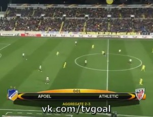 Liga Europa: Apoel 2 - 0 Athletic Bilbao (2016-2017)