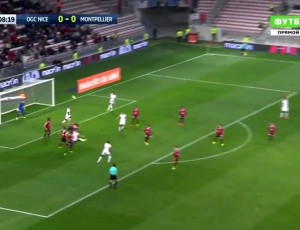 Ligue 1: Nice 2 - 1 Montpellier (2016-2017)