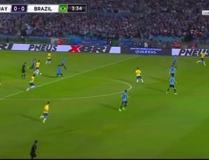Qualificação Mundial América do Sul: Uruguai 1 - 4 Brasil (2018)