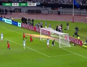 Qualificação Mundial América do Sul: Argentina 1 - 0 Chile (2018)