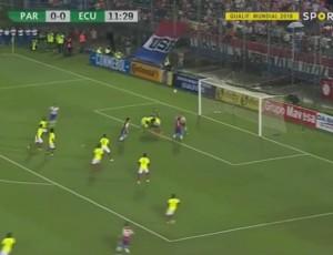 Qualificação Mundial América do Sul: Paraguai 2 - 1 Equador (2018)